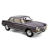 Norev Peugeot 404 Coupe 1967 - Graphite Grey 1:18