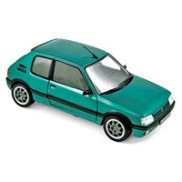 Norev Peugeot 205 GTI Griffe 1990 - Green 1:18