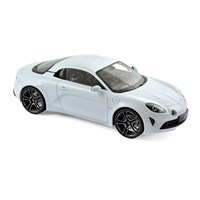 Alpine A110 2017 - White Metallic 1:18