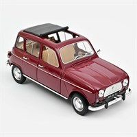 Norev Renault 4 L 1966 - Dark Red 1:18