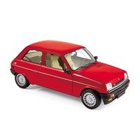 Norev Renault 5 Alpine Turbo 1982 - Red 1:18