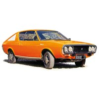 Norev Renault 17 TL 1973 - Orange 1:18