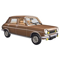 Norev Simca 1100 TI 1974 - Sandalwood Metallic 1:18