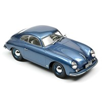 Norev Porsche 356 Coupe 1952 - Blue 1:18