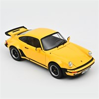 Norev Porsche 911 Turbo 3.0 1976 - Yellow 1:18
