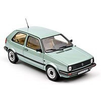 Norev Volkswagen Golf CL 1987 - Light Green Metallic 1:18
