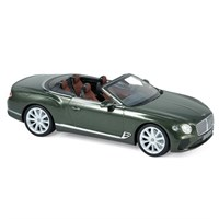 Norev Bentley Continental GT Convertible 2019 - Green Metallic 1:43