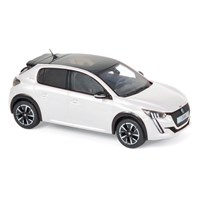 Norev Peugeot 208 GT Line 2019 - Pearl White 1:43
