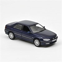Norev Peugeot 406 2003 - Chinese Blue 1:43