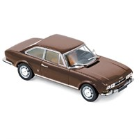 Peugeot 504 Coupe 1969 - Brown 1:43