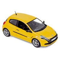 Norev Renault Clio R.S. 2009 - Sirius Yellow 1:43