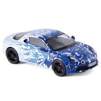 Norev Alpine A110 Test Car 2017 - White/Blue 1:43