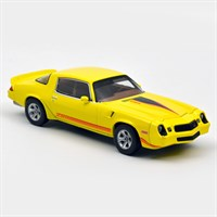 Norev Chevrolet Camaro Z28 1980 - Yellow Metallic/Red 1:43