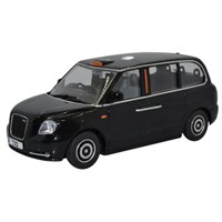 Oxford TX5 Taxi - Black 1:43