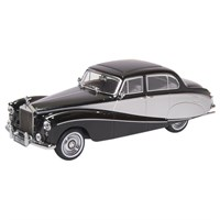 Oxford Hooper Empress Rolls-Royce Silver Cloud - Black/Silver 1:43