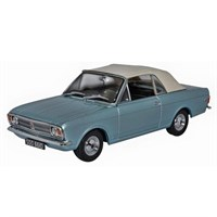 Oxford Ford Cortina Mk.II Crayford Convertible - Blue 1:43