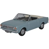Oxford Ford Cortina Mk.II Crayford Convertible - Blue Mink 1:43