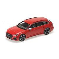 Minichamps Audi RS 6 Avant 2019 - Red Metallic 1:43