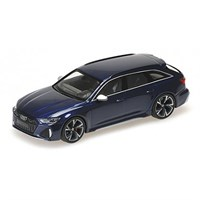 Minichamps Audi RS 6 Avant 2019 - Blue Metallic 1:43
