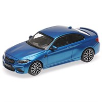 Minichamps BMW M2 Competition 2019 - Blue Metallic 1:43