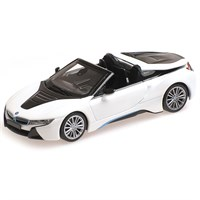 Minichamps BMW I8 Roadster 2017 - White Metallic 1:43