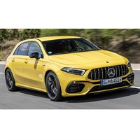Minichamps Mercedes-AMG A45S 2019 - Yellow 1:43
