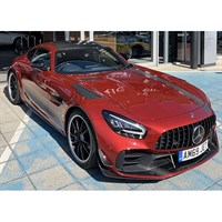 Minichamps Mercedes-AMG GT R Pro 2020 - Red W. Stripes 1:43