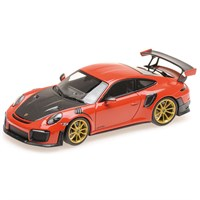 Minichamps Porsche 911 GT2 RS 2018 - Guards Red 1:43