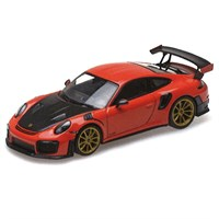 Minichamps Porsche 911 GT2 RS 2018 - Lava Orange 1:43