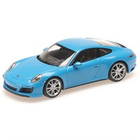 Minichamps Porsche 911 Carrera 4S 2017 - Blue 1:43