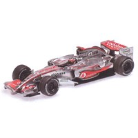 Minichamps McLaren MP4/22 -1st 2007 Monaco Grand Prix - #1 F. Alonso 1:43