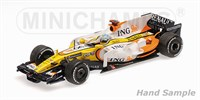 Minichamps Renault R28 - 1st 2008 Singapore Grand Prix - #5 F. Alonso 1:43
