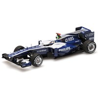 Minichamps Williams FW32 - 2010 Brazilian Grand Prix - #9 R. Barrichello 1:43