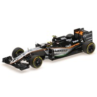 Force India F1 VJM09 - 2016 European Grand Prix - #11 S. Perez 1:43