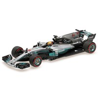 Mercedes F1 W08  - 2017 Mexican Grand Prix World Champion - #44 L. Hamilton 1:43