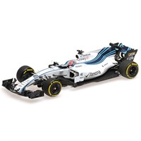 Minichamps Williams FW40 - 2017 Abu Dhabi Grand Prix Test - #40 R. Kubica 1:43