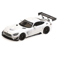 Minichamps Mercedes AMG GT3 2017 - Plain Body Version - White 1:43