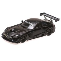 Minichamps Mercedes AMG GT3 2017 - Plain Body Version - Matt Black 1:43