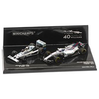 Minichamps A. Jones 1978 Williams FW06/F. Massa 2017 Williams FW40 Two Car Set - 1:43