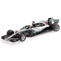 Minichamps Mercedes F1 W09 - 2018 Mexican Grand Prix World Champion - #44 L. Hamilton 1:43