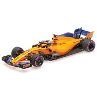 Minichamps McLaren MCL33 - 2018 Canadian Grand Prix - #14 F. Alonso 300th GP 1:43