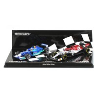 Minichamps Sauber C20 2001 & Alfa Romeo C38 2019 - K. Raikkonen - Two Car Set 1:43