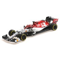 Minichamps Alfa Romeo C38 - 2019 Monaco Grand Prix - 300th Start - #7 K. Raikkonen 1:43