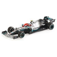Minichamps Mercedes F1 W10 - 2019 Monaco Grand Prix - #77 V. Bottas 1:43
