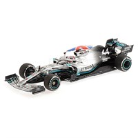 Minichamps Mercedes F1 W10 - 1st 2019 British Grand Prix - #44 L. Hamilton 1:43