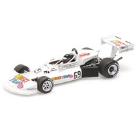 Minichamps March 76B - 1st 1976 Formula Atlantic Trois-Rivieres Park Grand Prix - #69 G. Villeneuve 1:43
