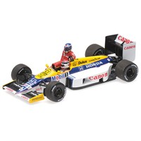 Minichamps Williams FW11 - 1986 German Grand Prix - Keke Rosberg Riding On Nelson Piquet 1:43