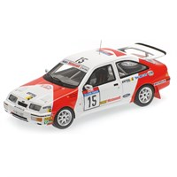 Minichamps Ford Sierra RS Cosworth - 1987 Tour de Corse - #15 C. Sainz 1:43