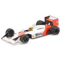 Minichamps McLaren MP4/4 - 1st 1988 Hungarian Grand Prix - #12 A. Senna 1:43
