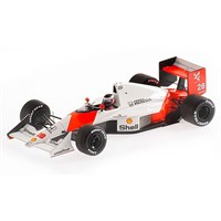 Minichamps McLaren MP4/5B - 1990 Brazilian Grand Prix - #28 G. Berger 1:43